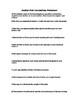 Scatter Plots Correlations Worksheet