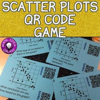 Scatter Plots QR Code Game