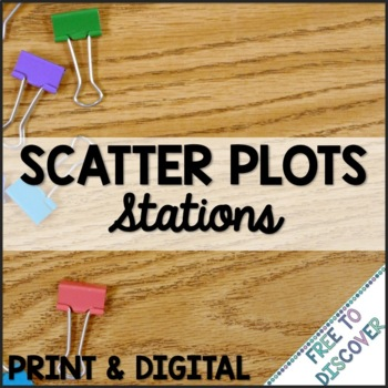 Scatter Plots Stations
