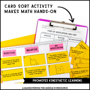 Scatter Plots and Data Activity Bundle