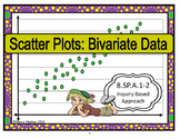 Scatter plots:  Bivariate Data