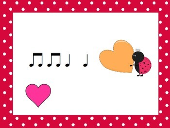 Scattered Hearts: A Koosh Activity with Quarter Note and Eighth Note Rhythms