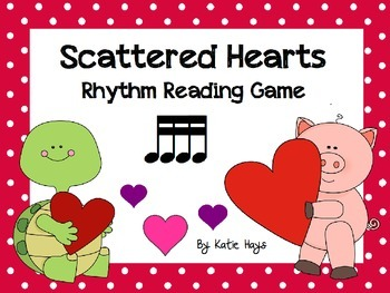 Scattered Hearts: A Koosh Activity with Sixteenth Note Rhythms