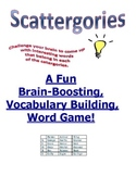 Scattergories: A Vocabulary Brain-Boosting Game