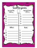 Scattergories: Creative Word Work Game for Kids
