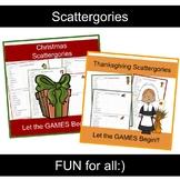 Scattergories Game BUNDLE