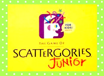 Scattergories Jr. Game (editable)