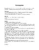 Scattergories - easy or ESL