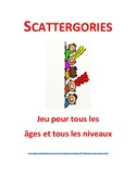 Scattergories in French