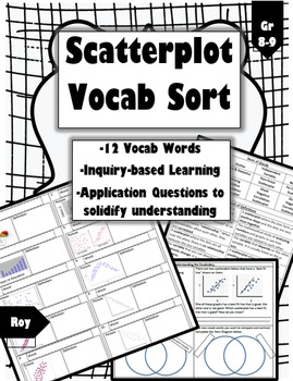 Scatterplot Vocabulary Sort