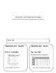 Scatterplot and Two-Way Table foldable.