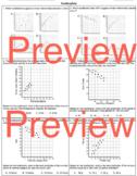 Scatter plot and Trend Lines Worksheet