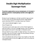 Scavanger Hunt : Double Digit Multiplication