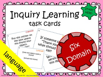 Inquiry Learning Task Cards