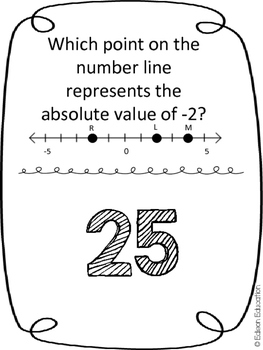 {FREE} Scavenger Hunt: Absolute Value & Opposite Numbers