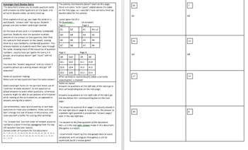 Scavenger Hunt Activity Template with Directions