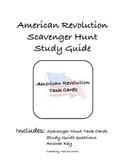 American Revolution Task Cards or Reverse Scavenger Hunt S