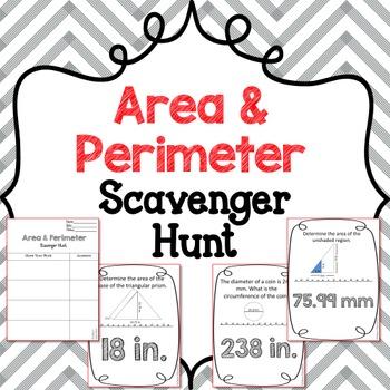 Scavenger Hunt: Area & Perimeter