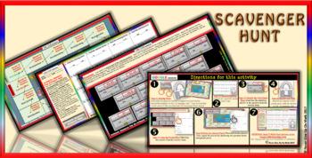 Scavenger Hunt: Arithmetic Mean (Google Interactive & Hard Copy)