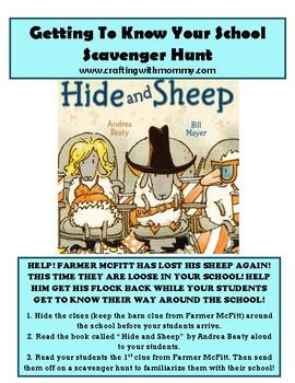 Scavenger Hunt Around the School