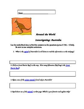 Scavenger Hunt-Australia
