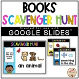 Scavenger Hunt (Books) - DIGITAL {Google Slides™/Classroom™}