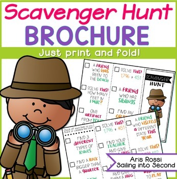 Scavenger Hunt Brochure
