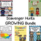 Scavenger Hunt GROWING Bundle