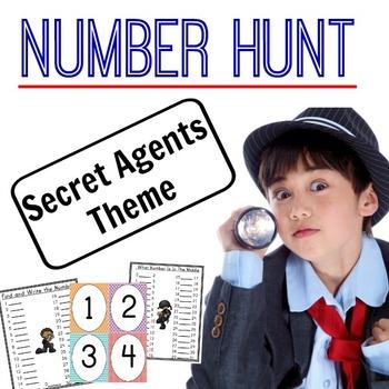 Scavenger Hunt Bundle - Numbers, Letters, Shapes