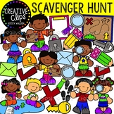 Scavenger Hunt Clipart {Creative Clips Clipart}