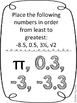 Scavenger Hunt: Compare, Locate, & Order Real Numbers