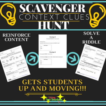 Scavenger Hunt - Context Clues
