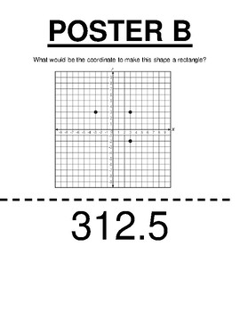 Scavenger Hunt Coordinate Plane & Geometry