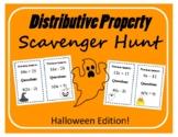 Scavenger Hunt: Distributive Property - Halloween Edition!