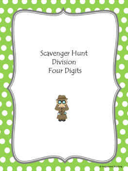 Scavenger Hunt Division Four Digits