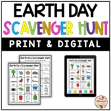 Scavenger Hunt (Earth Day) - PRINT & DIGITAL {Google Slide