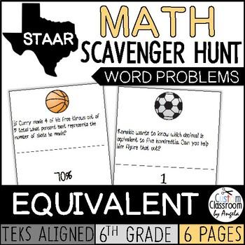 Scavenger Hunt: Equivalent Rational Numbers