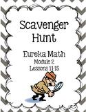 Scavenger Hunt Grade 3  Eureka Math Module 2 Lessons 11-15