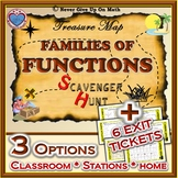 Scavenger Hunt - Families of Functions (Parent Function Transformation) Exit TK