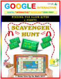 Scavenger Hunt: Find Slope from 2 Points (Google Interactive & Hard Copy)