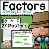 "Factors and Multiples ""Factor Scavenger Hunt"""