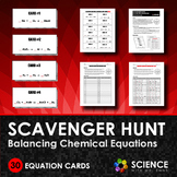 Scavenger Hunt Game - Balancing Chemical Equations
