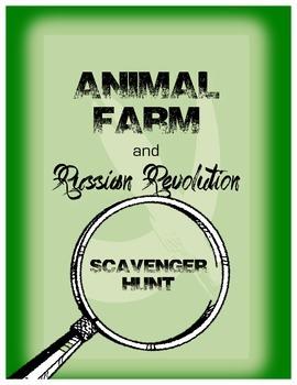 Scavenger Hunt Game For Animal Farm