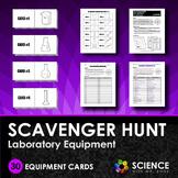 Scavenger Hunt Game - Lab Equipment