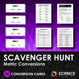 Scavenger Hunt Game - Metric Conversions