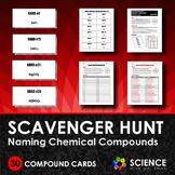 Scavenger Hunt Game - Naming Chemical Compounds