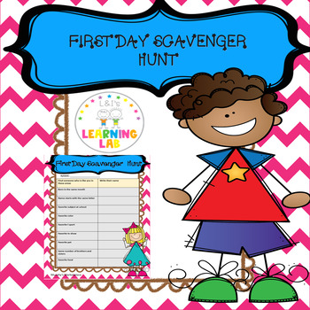 Scavenger Hunt -Get to Know Your classmates
