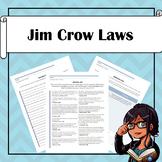 Scavenger Hunt: Jim Crow