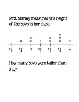Scavenger Hunt - Line Plots and Geometry Word Problems