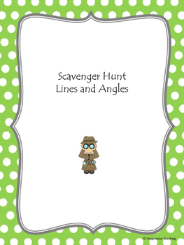 Scavenger Hunt Lines and Angles